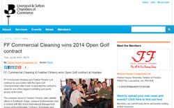 FFCC wins 2014 Open Golf contract