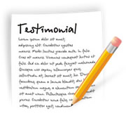 Domestic Cleaning Testimonials